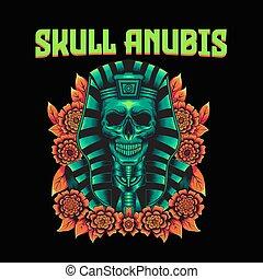 anubis, 頭骨