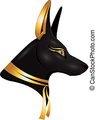 Anubis - the egyptian god Anubis
