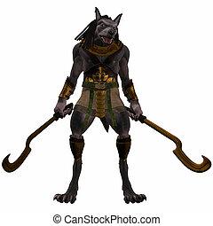 anubis-fantasy, モンスター, エジプト人