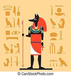 Anubis flat banner