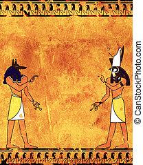 anubis, horus
