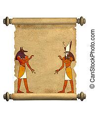 anubis, und, horus