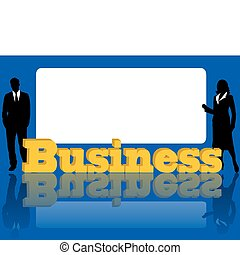 anunciando, negócio