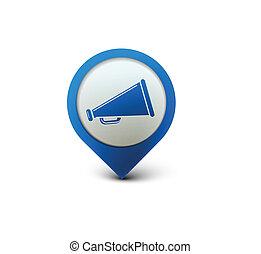 anuncio, icono