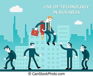 anvendelse, teknologi, firma