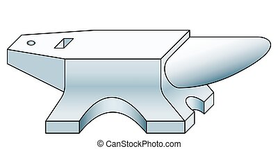 Anvil tool icon - Illustration of the anvil tool icon