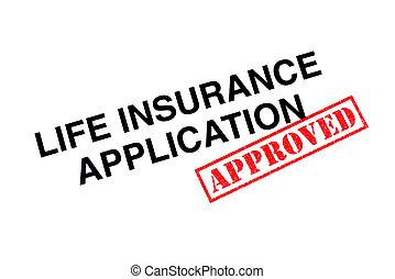 anwendung, lebensversicherung