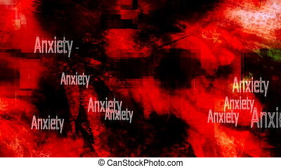Anxiety Feelings Background Loop - Anxiety Feelings Looping...
