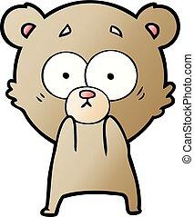 anxious bear cartoon