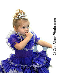 Anxious Pageant Girl