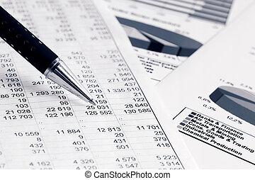 anyagi, ábra, és, táblázatok
