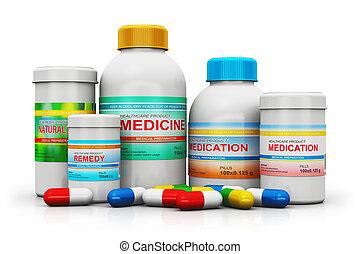 anyagi készletek, orvosi