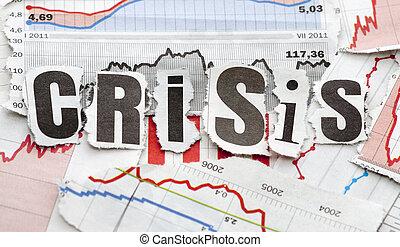 anyagi, krízis