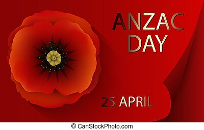 Anzac day concept
