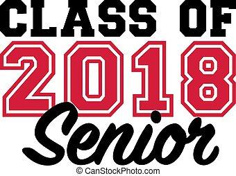 anziano, classe, 2018