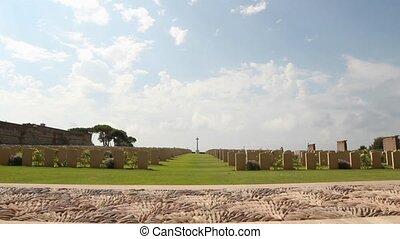 Anzio war cemetery - World war II Allied cemetery in Anzio,...