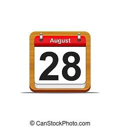 août, 28.