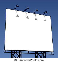 ao ar livre, billboard