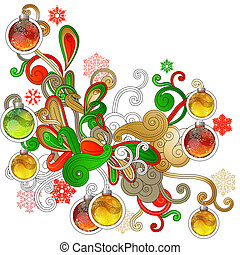 aom(15).jpg - Modern Christmas design element with balls