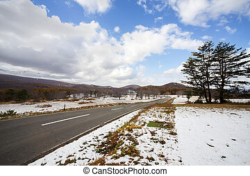aomori prefecture, Tohoku region, Japan with nice background
