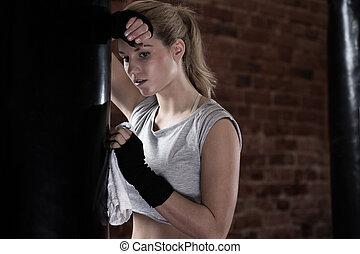 após, treinamento