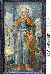 apóstol, peter, santo