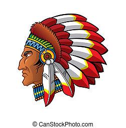 apache, anføreren