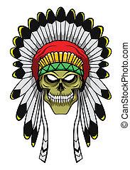 apache, cabeza