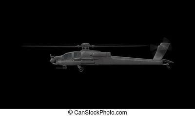 apache, hélicoptère
