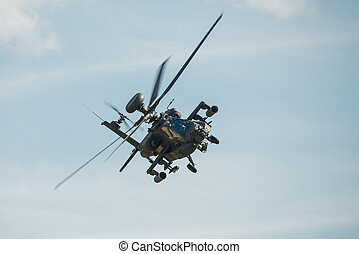Apache helicopter - Duxford,UK - 25 May 2014: An Apache...