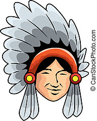 apache, homme