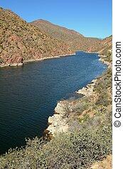 Apache Lake in Arizona
