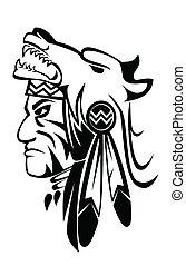 apache, lobo