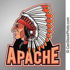 apache, mascota