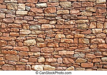 Apache Stone Wall #2
