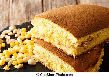 Apam Balik crispy and fluffy Asian peanut pancake turnover ...