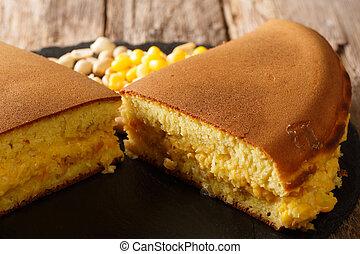 Apam balik or terang bulanor martabak manis is a dessert ...