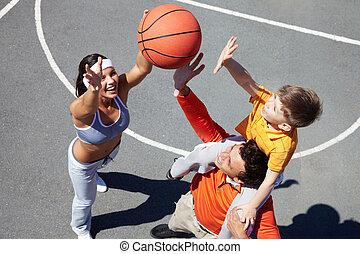 apanhar, ball!