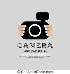 aparat fotograficzny.