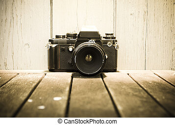 aparat fotograficzny rocznika