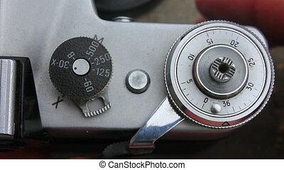 aparat fotograficzny, stary