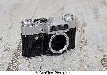 aparat fotograficzny, stary, zenit