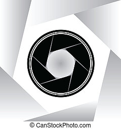 aparat fotograficzny, symbol, wektor, ilustracja