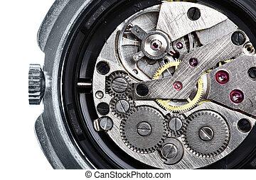 aparato de relojería, reloj de pulsera