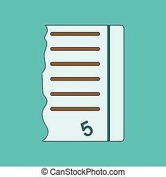 apartamento, ícone, magra, linhas, exame, contagem, excelente
