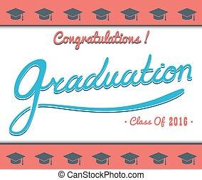 apartamento, comemorar, set.celebration, congrats, graduação, alto, vetorial, partido, modelo, acabamento, school.college, mínimo, illustration.