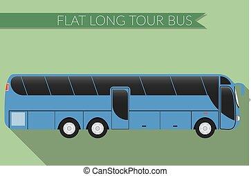 apartamento, desenho, autocarro, intercity, ícone