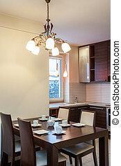 apartamento, -, espacioso, cocina