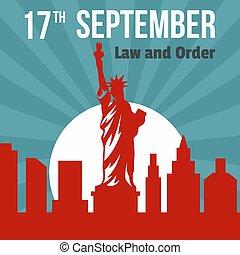apartamento, estilo, 17, setembro, fundo, lei, ordem