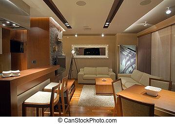 apartamento, interior